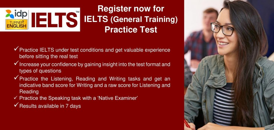 PTE & IELTS Mock Exams - Turner English